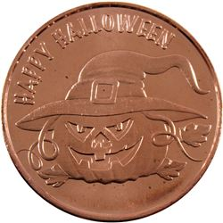 *1oz .999 Fine Copper Rounds in Tube - 10x Halloween & 10x Legendary Dragons. 20pcs (TAX Exempt)