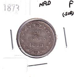 NFLD Silver 1873 20-cent Fine *Key Date*