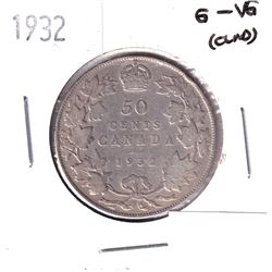50-cents 1932 G-VG condition.