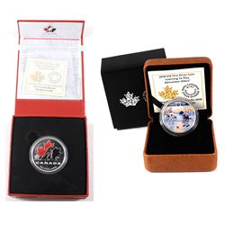 2014 Canada $20 100th Anniversary of Hockey Canada & 2018 $10 Learning to Play - Edmonton Oilers Fin