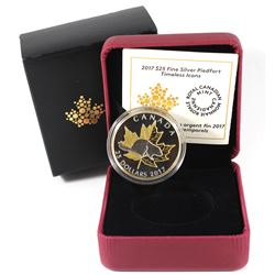 2017 Canada $25 Timeless Icons - Piedfort Fine Silver Coin (TAX Exempt).