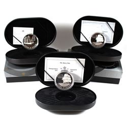 2001 & 2002 Canada $20 Transportation Ships Series Sterling Silver Coins. You will receive 2x 2001 M