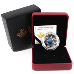 2017 $20 Canadian Underwater Life Fine Silver Coin (TAX Exempt).