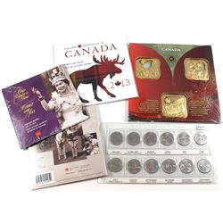 Once Upon a Time 5-coin Keepsake Booklet, Once Upon a Time 10-coin Keepsake Booklet, 1992 Canada Com