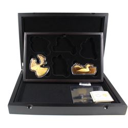 *2020 Canada $50 Real Shapes Gold Plated Fine Silver - Moose & Loon in the Subscription Set Case (TA