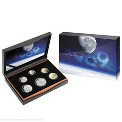 2019 Australia 50th Anniversary of the Moon Landing Commemorative 6-coin Proof Set.