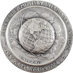 1964-1965 Official Commemorative Medallion of the New York World's Fair and the 300th Anniversary of