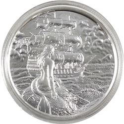 2oz Privateer Collection - The Siren Utra High Relief .999 Fine Silver Coin in Capsule (TAX Exempt).