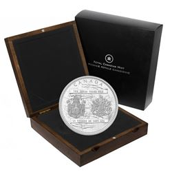 *2013 Canada $250 250th Anniversary of the End of the Seven Years War Kilo Fine Silver Coin (TAX Exe