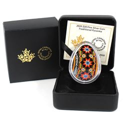 2020 Canada $20 Traditional Pysanka Fine Silver Coin (TAX Exempt)