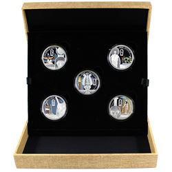2013 Niue $2 Mythologies of the World - Story of Osiris Fine Silver 5-coin Set Issued by PAMP. You w