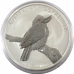 2010 Australia $5 1oz Kookaburra Fine Silver Coin in Capsule (TAX Exempt)