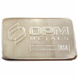 10oz OPM Metals .999 Fine Silver Bar (TAX Exempt)
