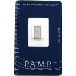 Pamp Suisse 1g Platinum Wafer (Tax Exempt)