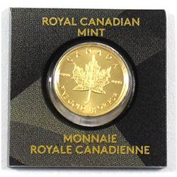 2015 Canada 1 Gram Gold Maple Leaf (Tax Exempt)