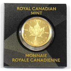 2015 Canada 1 Gram Gold Maple Leaf (Tax Exempt)