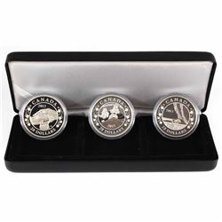 2013 Canada $20 Birth of the Royal Infant Fine Silver 3-Coin Set. Includes only the coins that are e