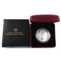 2014 Canada $25 Matriarch Moon Mask Fine Silver Coin. TAX Exempt