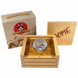 2015 Canada $20 Looney Tunes Classic Scenes Merrie Melodies Fine Silver Coloured Coin (TAX Exempt)