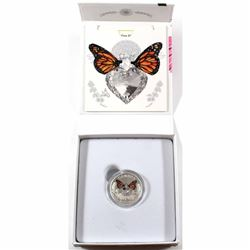 2017 Canada $3 Celebration of Love Fine Silver Coin with Crystal (TAX Exempt)