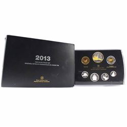 2013 Canada Arctic Expedition Fine Silver Double Dollar Proof Set (outer sleeve lightly bent). TAX E