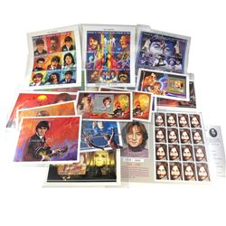 Stamps The Beatles: 16 different Stamps about The Beatles, released mainly from Republic of Chad & A