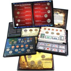 USA Special Issue Collector Coin Sets: America's Smallest Dollars Set, Gold Rush 24 karat Gold-Plate
