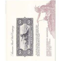 American Bank Note Commemoratives Souvenir Card Album. Contains many different Intaglio prints: Incl