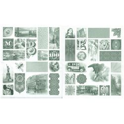 American Bank Note Commemoratives Souvenir Card Album. Contains some intaglio prints and Official po