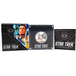 2019 Tuvalu $1 1oz .999 Silver Star Trek - Captain Kirk and Jupiter (No Tax)