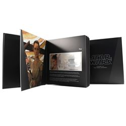 2019 Niue $1 Star Wars: The Force Awakens - Rey Silver Note with Deluxe Collector Album (No Tax)