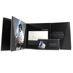 2018 Niue $1 Star Wars: Episode IV A New Hope - Luke Skywalker Silver Note with Deluxe Collector Alb