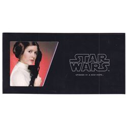2018 Niue $1 Star Wars: Episode IV: A New Hope - Princess Leia 5 gram Silver Foil (Tax Exempt).
