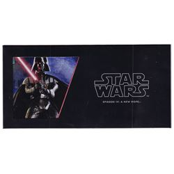 2018 Niue $1 Star Wars: Episode IV: A New Hope - Darth Vader 5 gram Silver Foil (Tax Exempt).