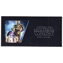 2018 Niue $1 Star Wars: Episode IV: A New Hope - R2-D2 & C-3PO 5 gram Silver Foil (Tax Exempt).