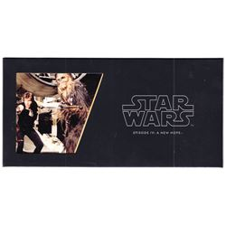 2018 Niue $1 Star Wars: Episode IV: A New Hope - Han Solo & Chewbacca 5 gram Silver Foil (Tax Exempt