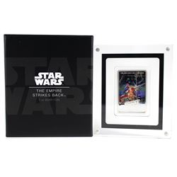 2017 Niue 1 oz. Silver $2 Star Wars - The Empire Strikes Back Poster (Tax Exempt)