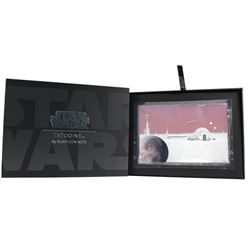 2019 Niue $1 Star Wars Worlds - Tatooine 5 gram .999 Fine Silver Note (Tax Exempt)