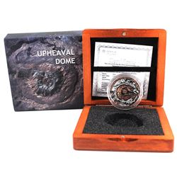 2019 Niue $1 1oz Meteorite Crater Upheaval Antique Finish Proof (Tax Exempt)