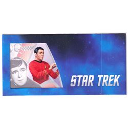"""2018 Star Trek Original Series - Lt. Commander Montgomery """"Scotty"""" Scott 5g Silver Coin Note (Tax Ex"""