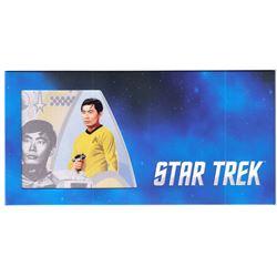 2018 Star Trek Original Series - Lt. Sulu 5g Silver Coin Note (Tax Exempt)