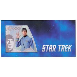 2018 Star Trek Original Series - Commander Spock 5g Silver Coin Note (Tax Exempt)