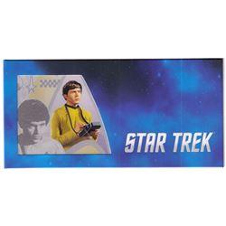 2018 Star Trek Original Series - Ensign Pavel Chekov 5g Silver Coin Note (Tax Exempt)