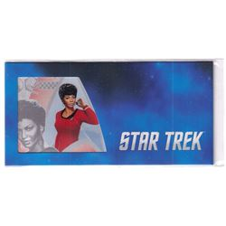 2018 Star Trek Original Series - Lt. Uhura 5g Silver Coin Note (Tax Exempt)
