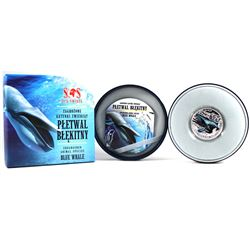 2014 Niue 1$ Blue Whale - S.O.S. Endangered Animal Species 1/2oz. Proof Silver Coin (Tax Exempt)