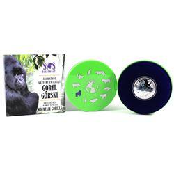2014 Niue 1$ Mountain Gorilla - S.O.S. Endangered Animal Species 1/2oz. Proof Silver Coin (Tax Exemp