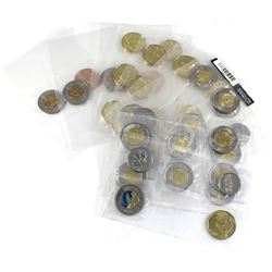 Group Lot of Canada Circulation Packs: 3x 2011 $1 & $2 combo, 3x 2014 Circulation 5-packs, 2x 2014 C