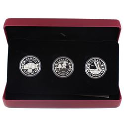 2013 Canada $20 Birth of the Royal Infant Fine Silver 3-Coin Set (missing outer sleeve and capsule s
