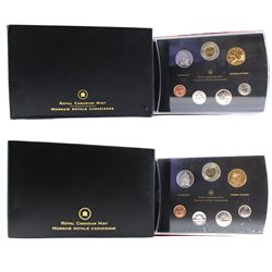 2005 & 2007 Canada Specimen Sets. Please note 2005 set contains impaired packaging & missing COA. 2