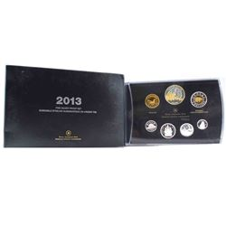 2013 Canada Arctic Expedition Fine Silver Double Dollar Proof Set (outer sleeve is lightly worn). TA